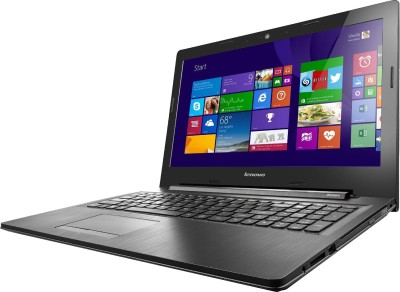 Lenovo G Series G50-45 80E3005RIN APU Dual Core - (2 GB DDR3/500 GB HDD/Windows 8) Notebook (15.6 inch, Black)
