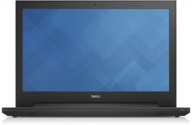 Dell Inspiron 3000 3543 Celron Dual Core (5th Gen) - (4 GB DDR3/500 GB HDD/Ubuntu) Notebook (15.6 Inch, Black)