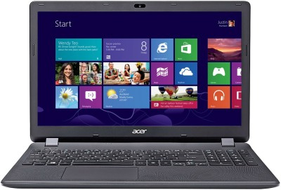 Acer Aspire E E5-532 NXMYESI.009 Pentium Quad Core - (2 GB DDR3/500 GB HDD/Windows 8.1) Notebook (15.6 inch, Black)