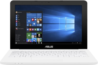 Asus EeeBook E202SA-FD0012T Celeron Dual Core - (2 GB/500 GB HDD/Windows 10) Netbook 90NL0051-M02820 (11.6 inch, White, 1.25 kg)