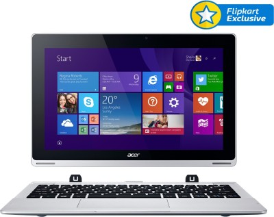 Acer Switch SW5-171 NT.L68SI.007 Core i3 (4th Gen) - (4 GB DDR3/500 GB HDD/Windows 8.1) 2 in 1 Laptop (11.6 inch, Grey)