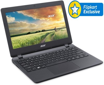 Acer Aspire E11 ES1-111 NX.MRKSI.004 Celeron Dual Core - (2 GB DDR3/500 GB HDD/Linux) Netbook (11.6 inch, Diamond Black)