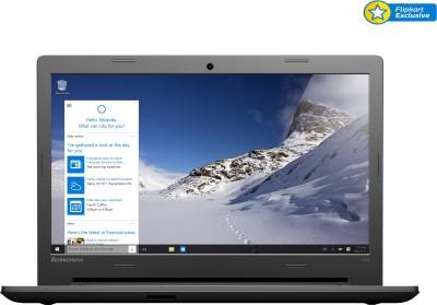 Lenovo IdeaPad 100-14IBD Core i3 (5th Gen) - (4 GB/500 GB HDD/Windows 10) Notebook 80RK002UIH (14 inch, Black, 2.1 kg)