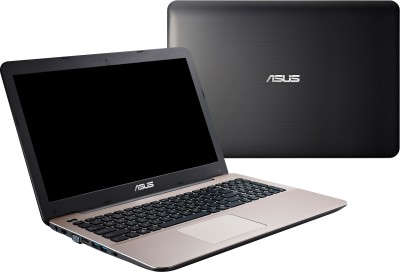 Asus A555LF-XO255D 90NB08H1-M03900 Core i3 (5th Gen) - (4 GB DDR3/1 TB HDD/Free DOS/2 GB Graphics) Notebook (15.6 inch, Glossy Dark Brown)