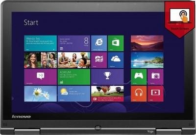 Lenovo Yoga S1 20CDA01 Ultrabook  4th Gen Ci5/ 4  GB/ 1TB/ Win8/ Touch   20CDA01 GIG  available at Flipkart for Rs.113499