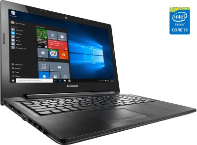 Lenovo G50-80 80E5038PIN Intel Core i5 (5th Gen) - (8 GB DDR3/1 TB HDD/Windows 10/2 GB Graphics) Notebook