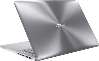 Asus ZenBook Pro UX501VW-FI119T 90NB0AU2-M01680 Core i7 (6th Gen) - (8 GB DDR4/Windows 10/4 GB Graphics) Notebook (15.6 inch, Aluminum Dark Grey)