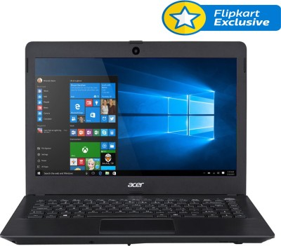 Acer One 14 Z1402-394D NX.G80SI.012 Intel Core i3 (5th Gen) - (4 GB DDR3/500 GB HDD/Windows 10) Notebook (14 inch, Charcoal Black)