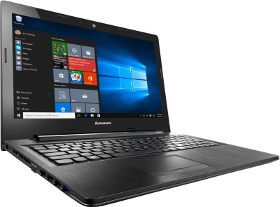Lenovo G G50-80 80E502UKIN Core i5 (5th Gen) - (4 GB DDR3/1 TB HDD/Windows 10/2 GB Graphics) Notebook (15.6 inch, Black)