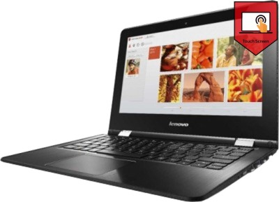 Lenovo Yoga 300-11iby 80M0007LIN Pentium Quad Core - (4 GB DDR3/500 GB HDD/Windows 10 Home) 2 in 1 Laptop (11.5 inch, White)