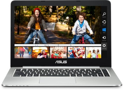 Asus K401UB Intel Core i5 (6th Gen) - (8 GB/1 TB HDD/24 GB SSD/Windows 10 Home/2 GB Graphics) 90NB0AD2-M00220 K401UB-FR018T Ultrabook (14.1 inch, Black & SIlver, 1.65 kg)