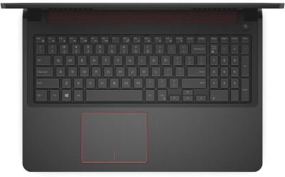 Dell Inspiron 7000 7559 Y567502HIN9 Core i7 (6th Gen) - (8 GB DDR3/1 TB HDD/Windows 10/4 GB Graphics) Notebook (15.6 inch, Black With Red Accents)