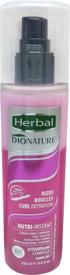 Herbal Bionature Nutri Instant Rizos/Boucles High Defination Biphase Conditioner