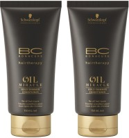 Schwarzkopf Bc Oil Miracle Gold Shimmer Conditioner (150 Ml) (Pack Of 2) (300 Ml)