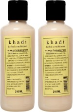 Khadi Orange Lemongrass Hair Conditioner Pack of 2