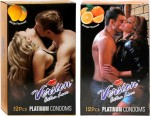 Version Extra Love Platinum Combos of Mango and Orange Flavour Condom