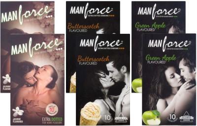 Manforce Jasmine, Butterscotch, GreenApple CPFK1960