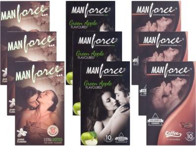 Manforce Jasmine, GreenApple, Coffee CPFK2488