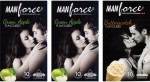Manforce Green Apple, Green Apple, Butterscotch