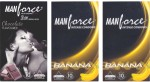 Manforce Chocolate, Banana, Banana
