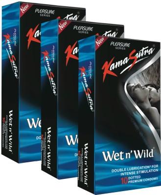 Kamasutra Platinum Wet n' Wild Monthly Combo