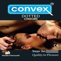 Convex Vanilla Condom (Set Of 3, 12S)
