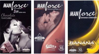 Manforce Chocolate, Chocolate, Banana