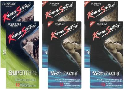 Kamasutra Superthin, Wet n Wild UPFK200073