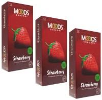 MOODS Strawberry Condom: Condom