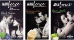 Manforce BlackGrape , Butterscotch, Green Apple