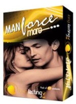 Manforce Long lasting Mango flavoured