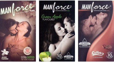 Manforce Jasmine, Green Apple, Coffee