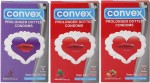 Convex Monthly Pack Combo Berry Special Prolonger Blueberry, Strawberry, Redcurrant