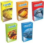 Carex Powershot, Gold, 3in1, Assorted Flavours and Super Thin