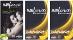 Manforce Green Apple, Banana, Banana