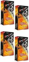 Kamasutra Warm Intimacy Warming Lubricated Plasure Series Condom (Set Of 4, 48S)