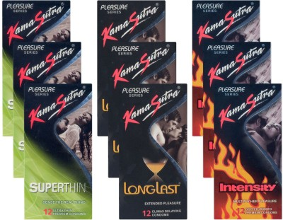 Kamasutra Superthin, Longlast, Intensity UPFK200344