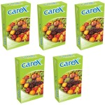 Carex Assorted Flavours x 5