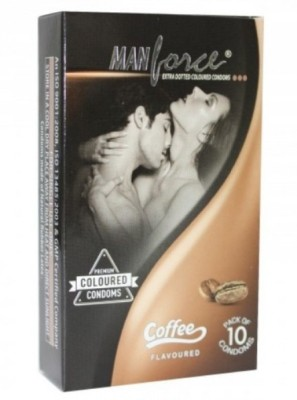 Manforce Coffee Flavoured 10'S Pack X 10