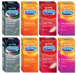 Durex Extended Pleasure, Excite Me, Feel Thin
