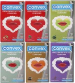 Convex Monthly Jumbo Pack Prolonger Mint, Strawberry, Chocolate, Blueberry, Jasmin, Redcurrant