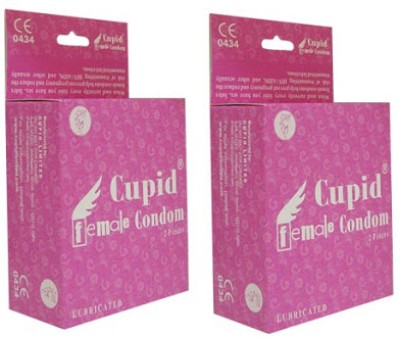 Cupid Lubricated Natural Latex Female