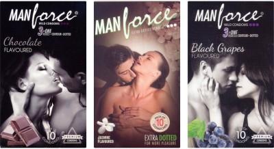 Manforce Chocolate, Jamin, BlackGrape