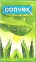 Convex Dotted Aloe Vera Condom (Set Of 4, 40S)