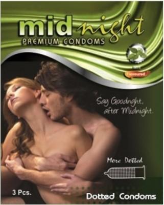 Midnight Condoms Green Leaf