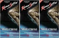 Kamasutra Wet N Wild, Wet N Wild, Wet N Wild Condom (Set Of 3, 36S)