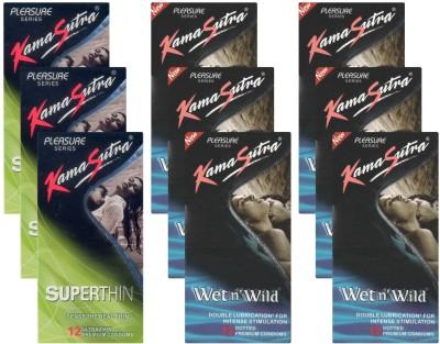 Kamasutra Superthin, Wet n Wild UPFK200324