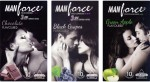 Manforce Chocolate, BlackGrape , Green Apple