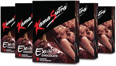 KamaSutra Chocolate Flavoured Dotted Monthly Combo