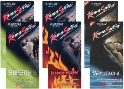 Kamasutra Superthin, Intensity, Wet n Wild UPFK200085
